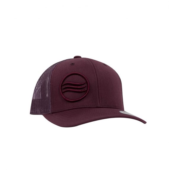 Gorra Glassy Retro Trucker Burdeos